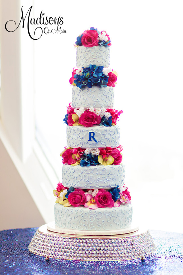 Tall Tiered Wedding