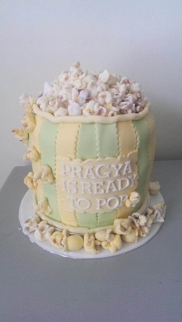 Popcorn Baby Shower