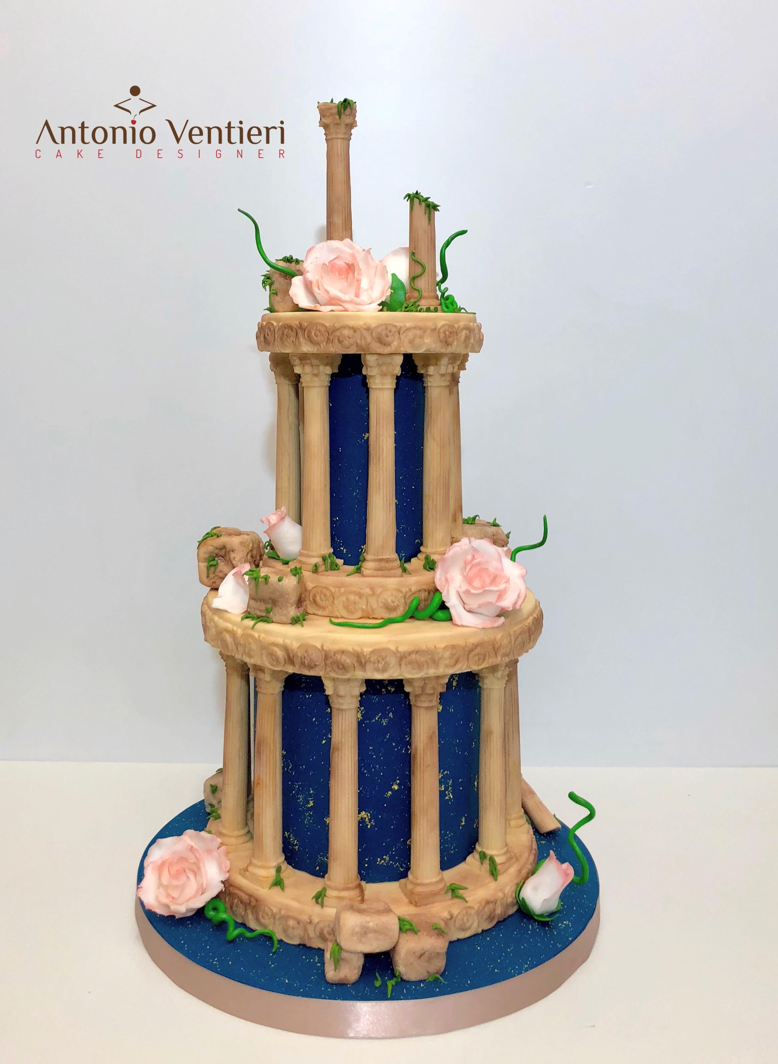 Italian architecture cake