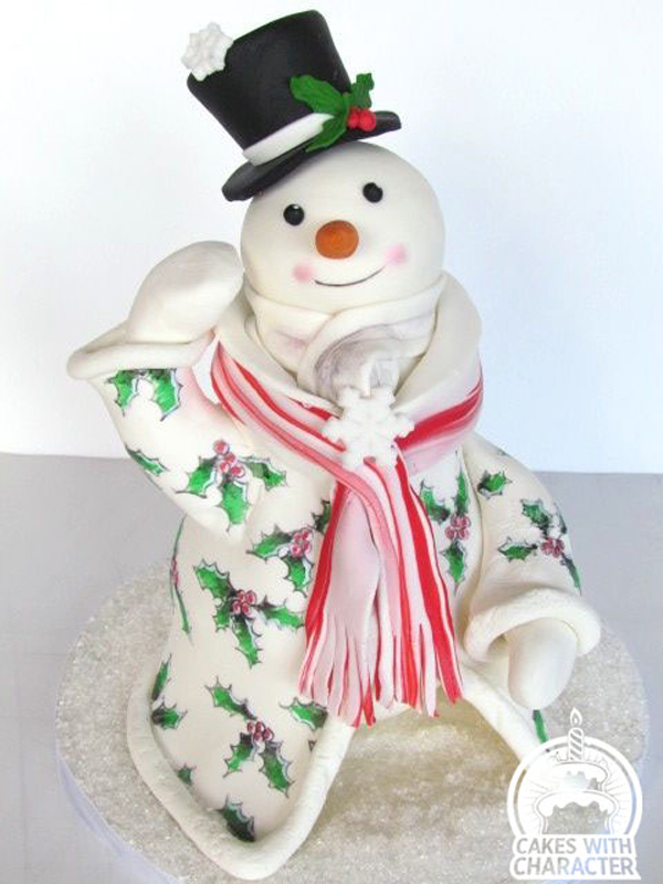 Sculpted Christmas Snowman