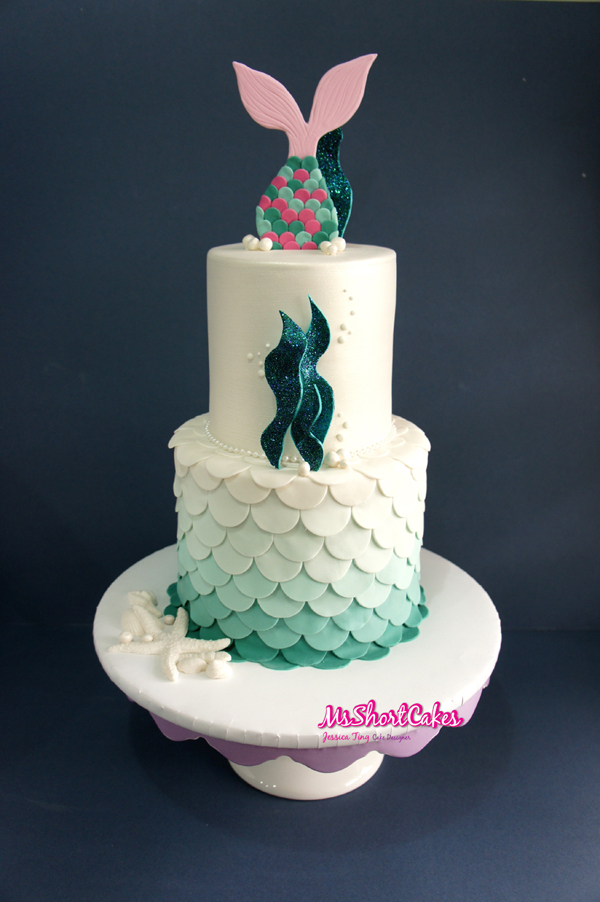 Mermaid Tail Topper