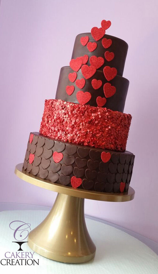 Red & Chocolate Hearts