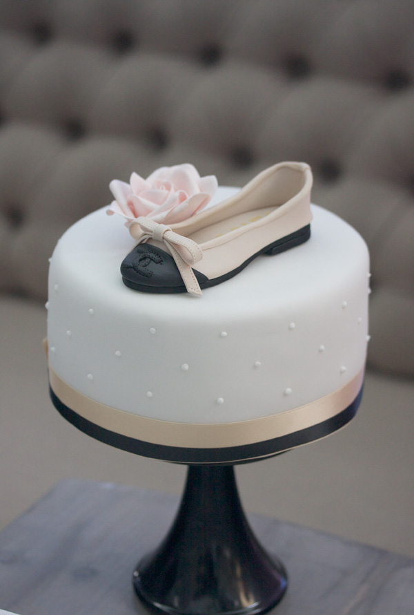 Gum Paste Shoe Topper