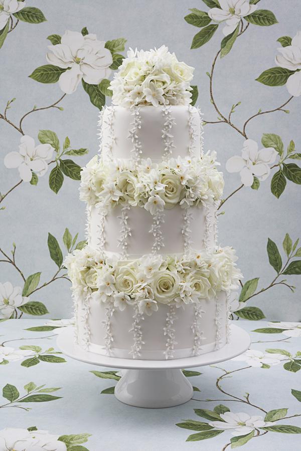 White rose wedding