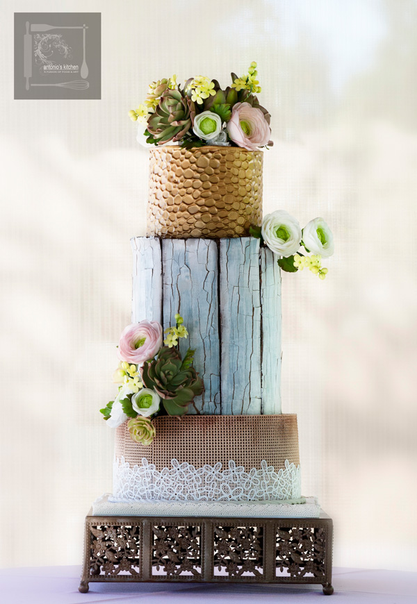Exposed Bark Wedding