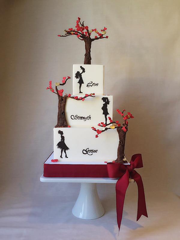 Tree Love Cake