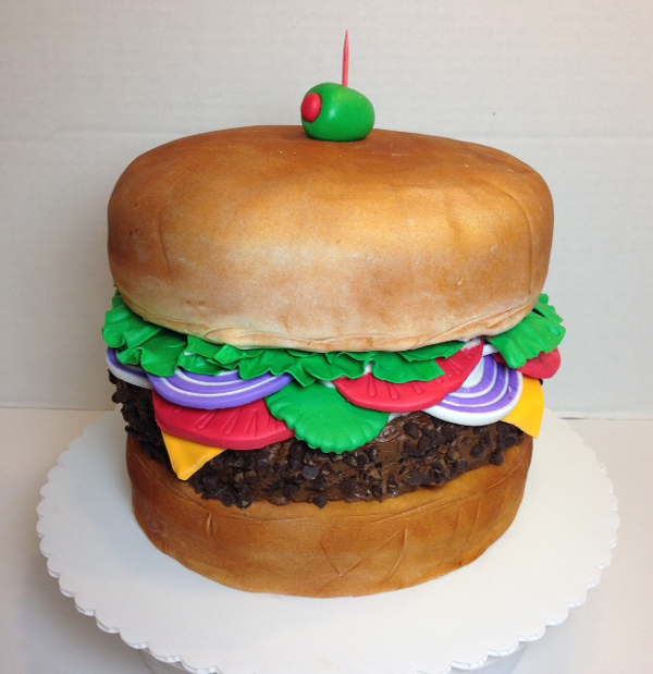 Sculpted Hamburger