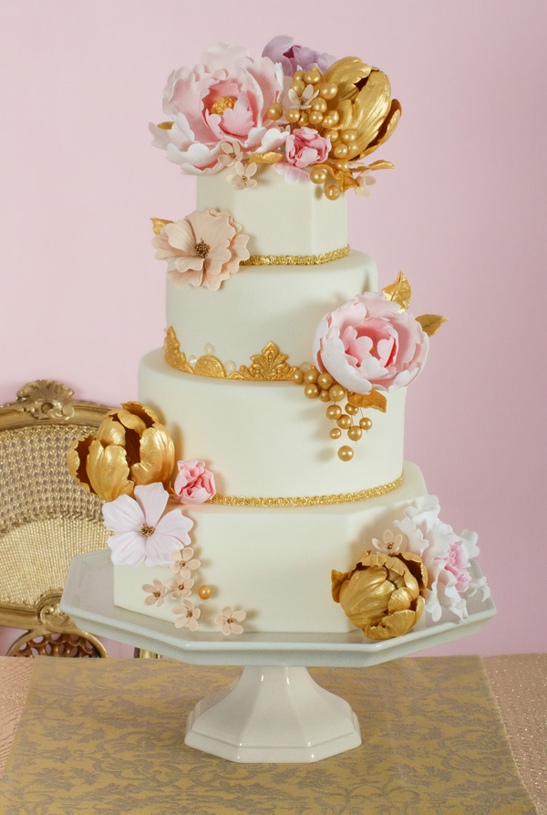 Gold Flower Wedding