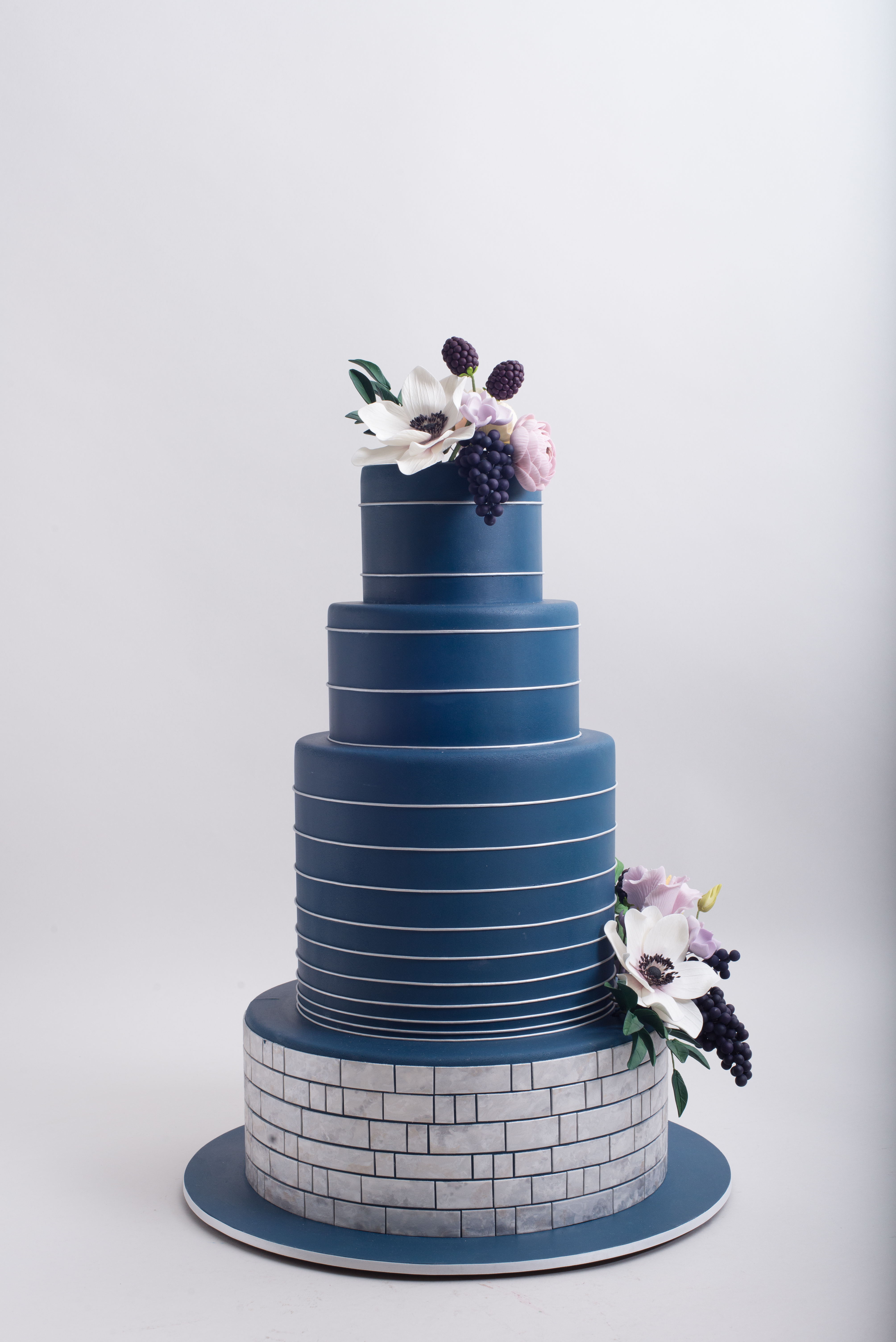 Blue Wedding Satin Ice