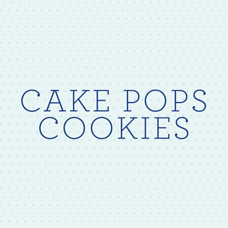 Satinice Fondant Cakepop Cookie