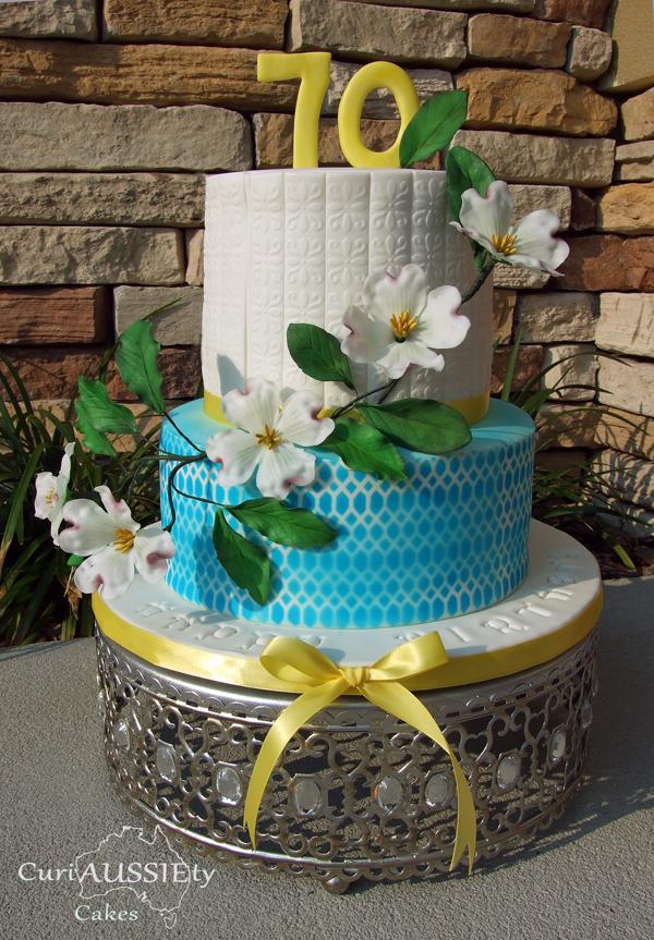 Floral Spring Birthday Cake