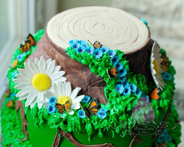 Forest Floor Cake