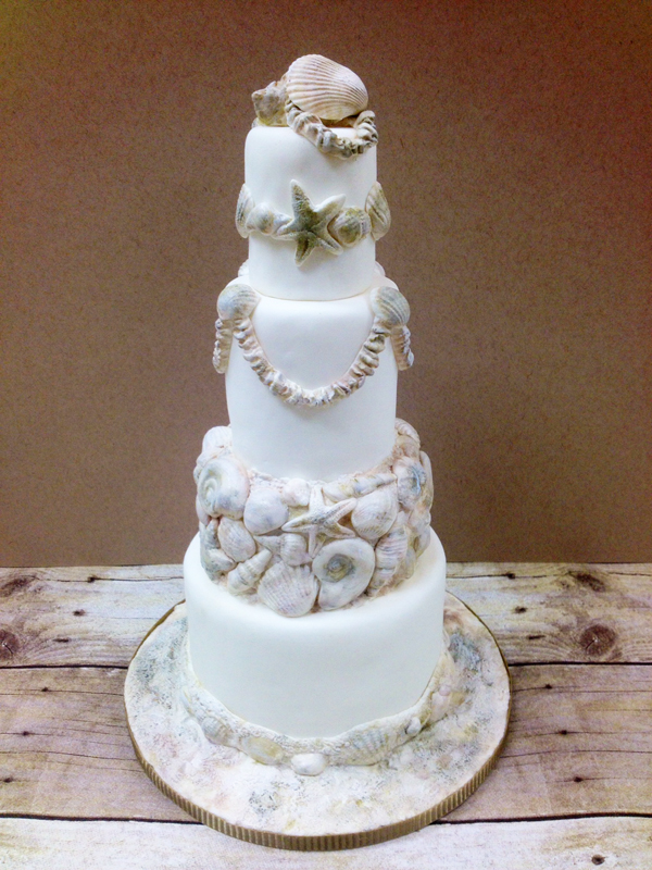 Seashell Beach Cake