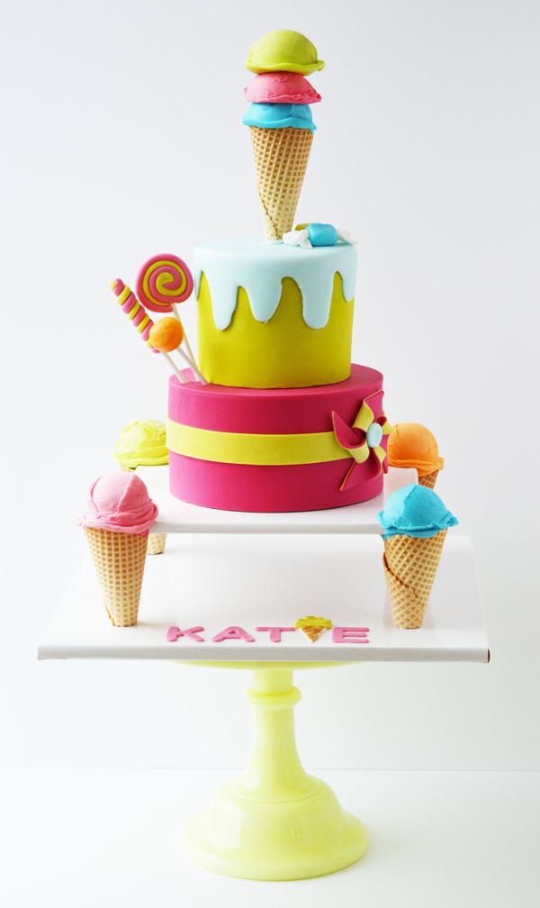 Ice Cream Party Cake