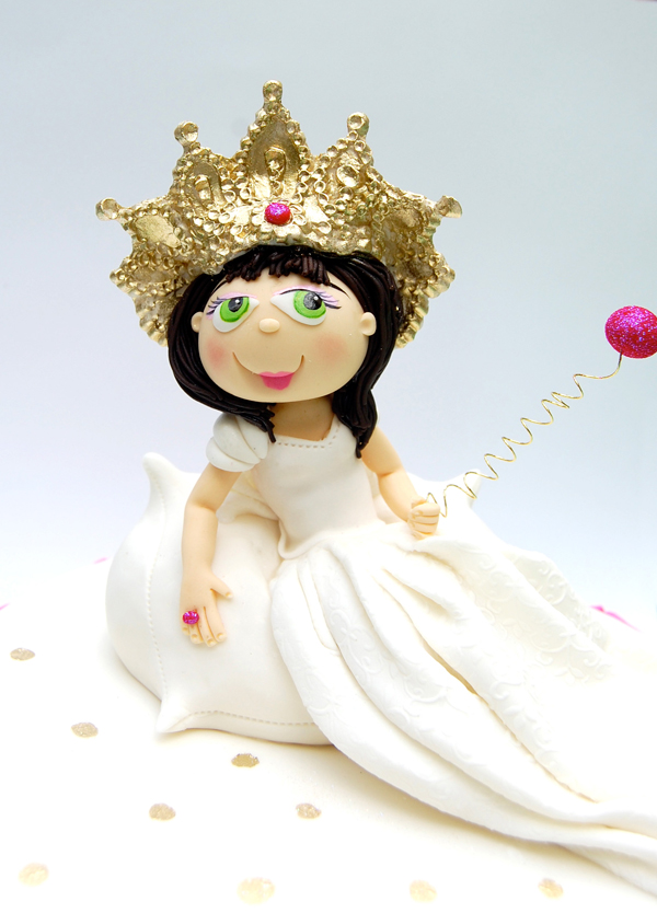 Princess fondant Figure