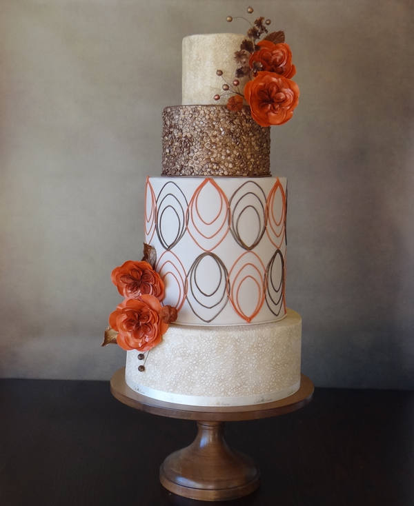 Elegant Design Wedding Cake