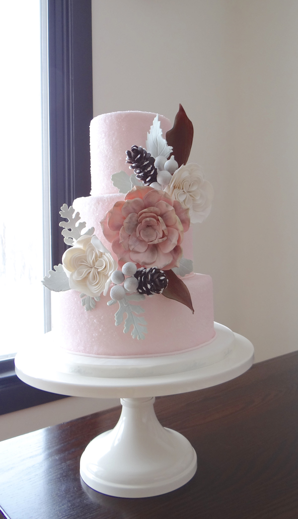 Elegant all baby Wedding Cake