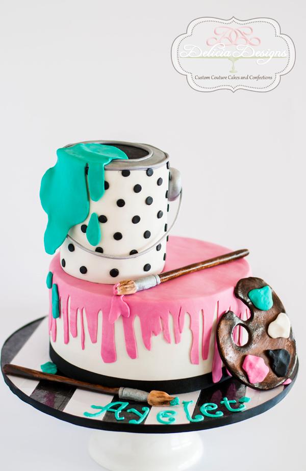 Artist themed Birthday