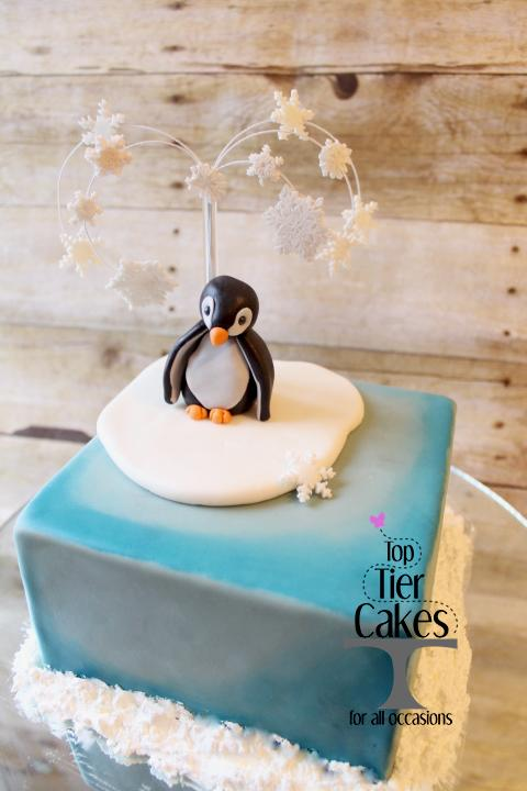 Mini Penguin cake