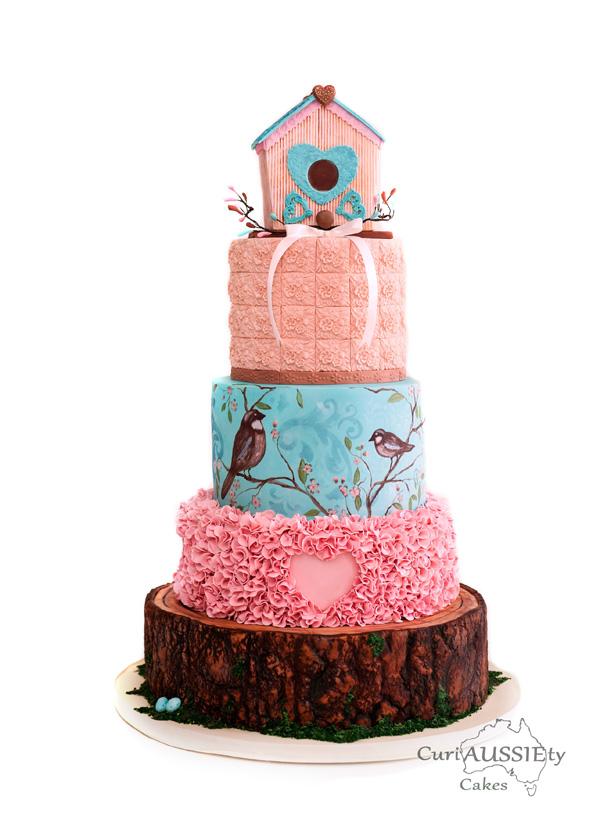 Cake Of The Month Sharon Spradley Usa Satin Ice