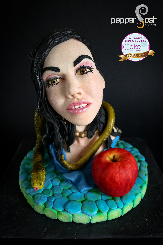 Eve bust cake
