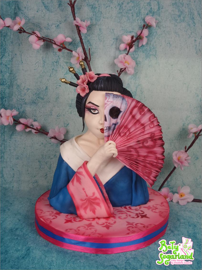 Geisha Bust