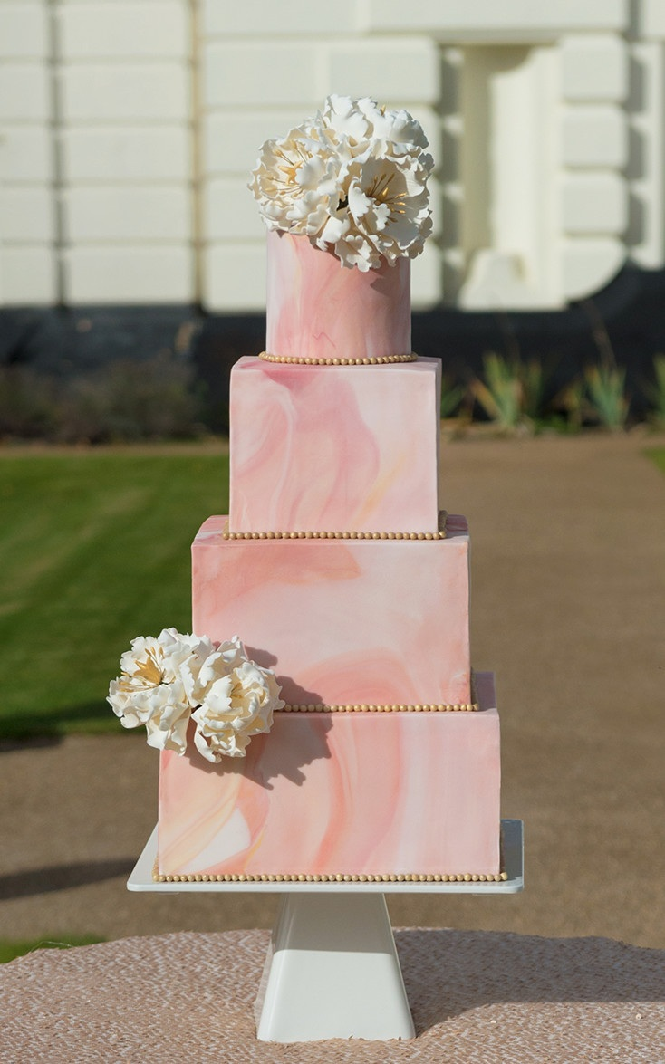 Pink Marble Blush Wedding
