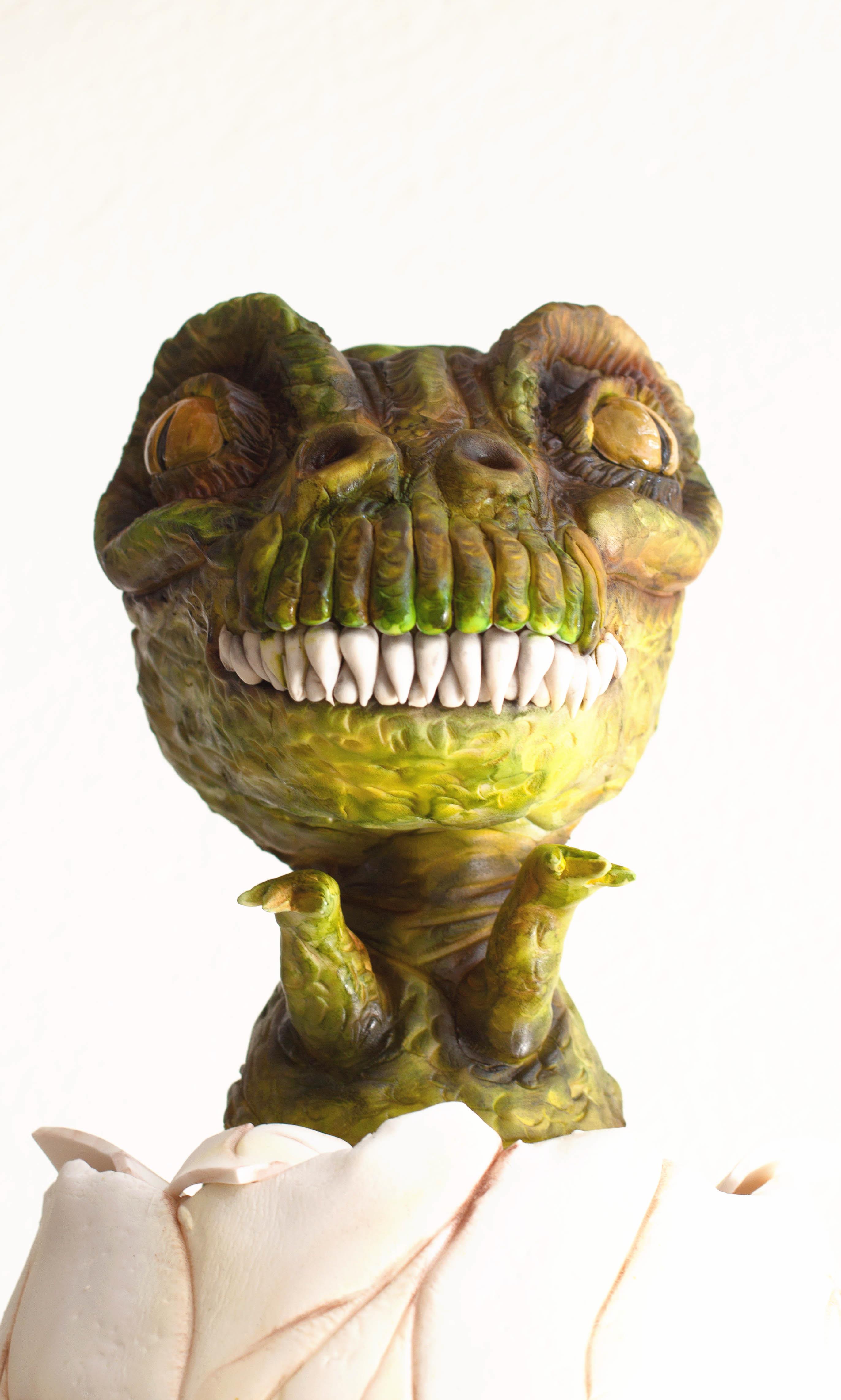 Sculpted dinosaur