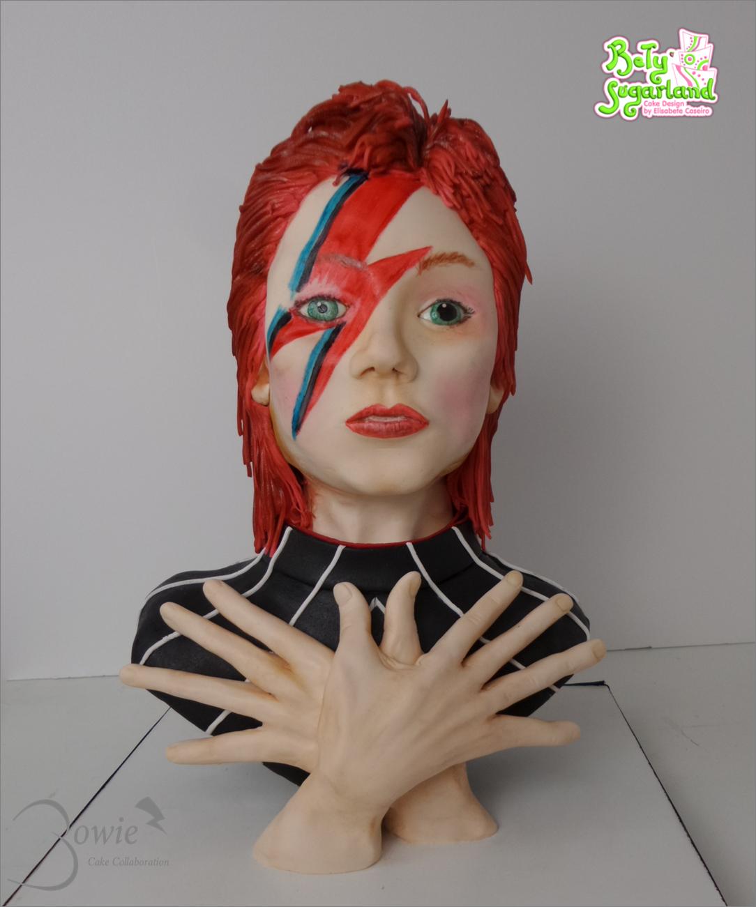 David Bowie Bust