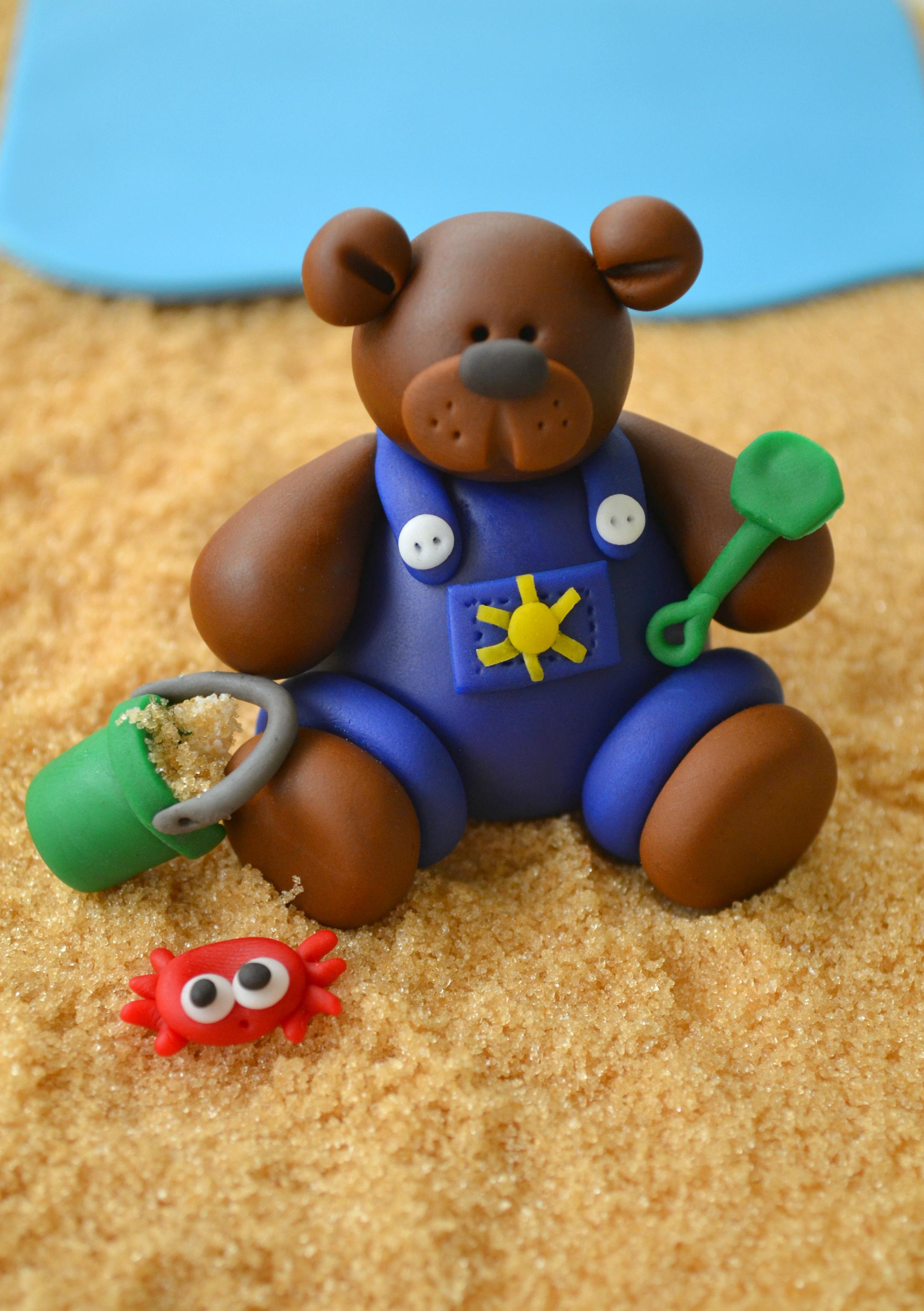 Beach bear.