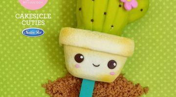 2021 Cakesicles Pastel Yellow Cactus