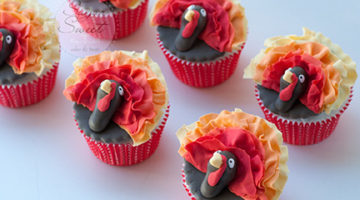 Angela Tran Turkey Cupcakes