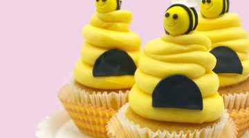 Bumblebee Cupcakes2