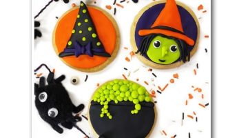 Halloween Witch Cookies Witch Trio