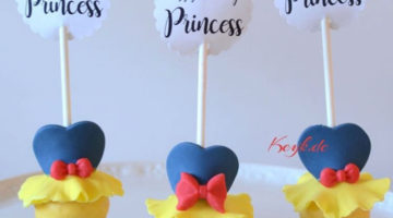 Snow White Cake Pop Tutorial