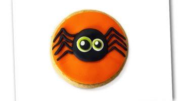 Spooky Halloween Cookie Spider 4
