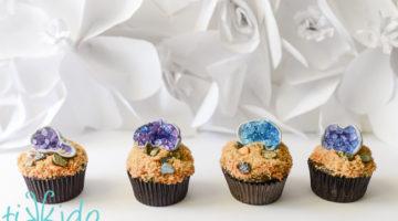 Tikkido Geode Cupcake Tutorial 5