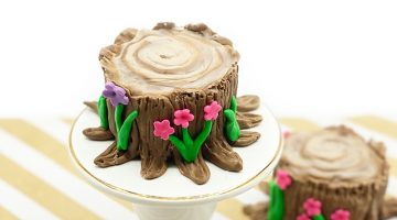 Tree Stump Cupcakes4