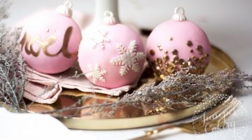 Christmas Bauble Cupcakes Tutorial Juniper Cakery 10