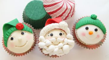 Hero Santa Cupcakes 11