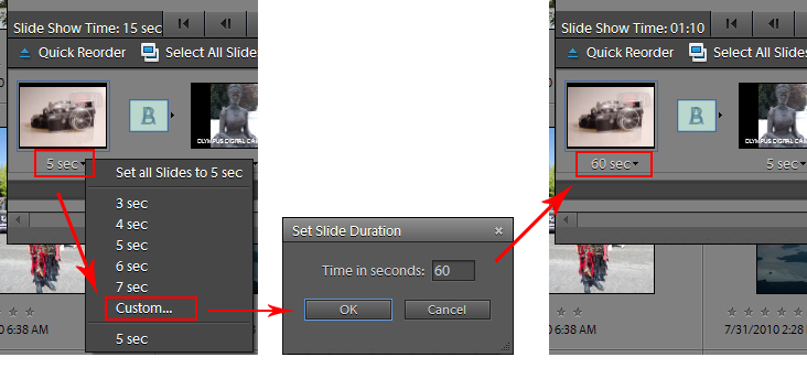 how to make a slideshow in photoshop elements