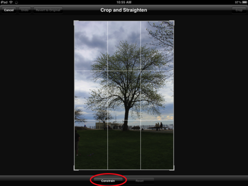 drag and resize image