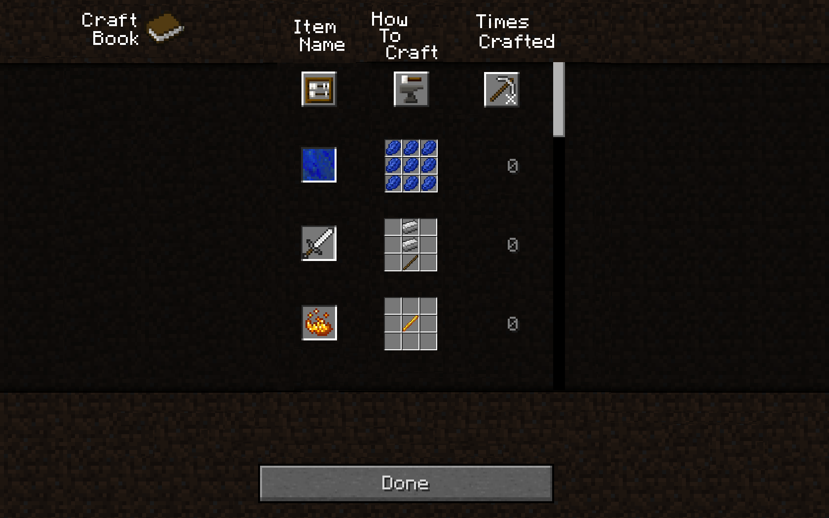 How To Make A Book In Minecraft : In game crafting recipe book legacy support archive