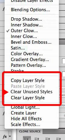 Photoshop: Remove unused layer styles | Photoshop Family Customer ...
