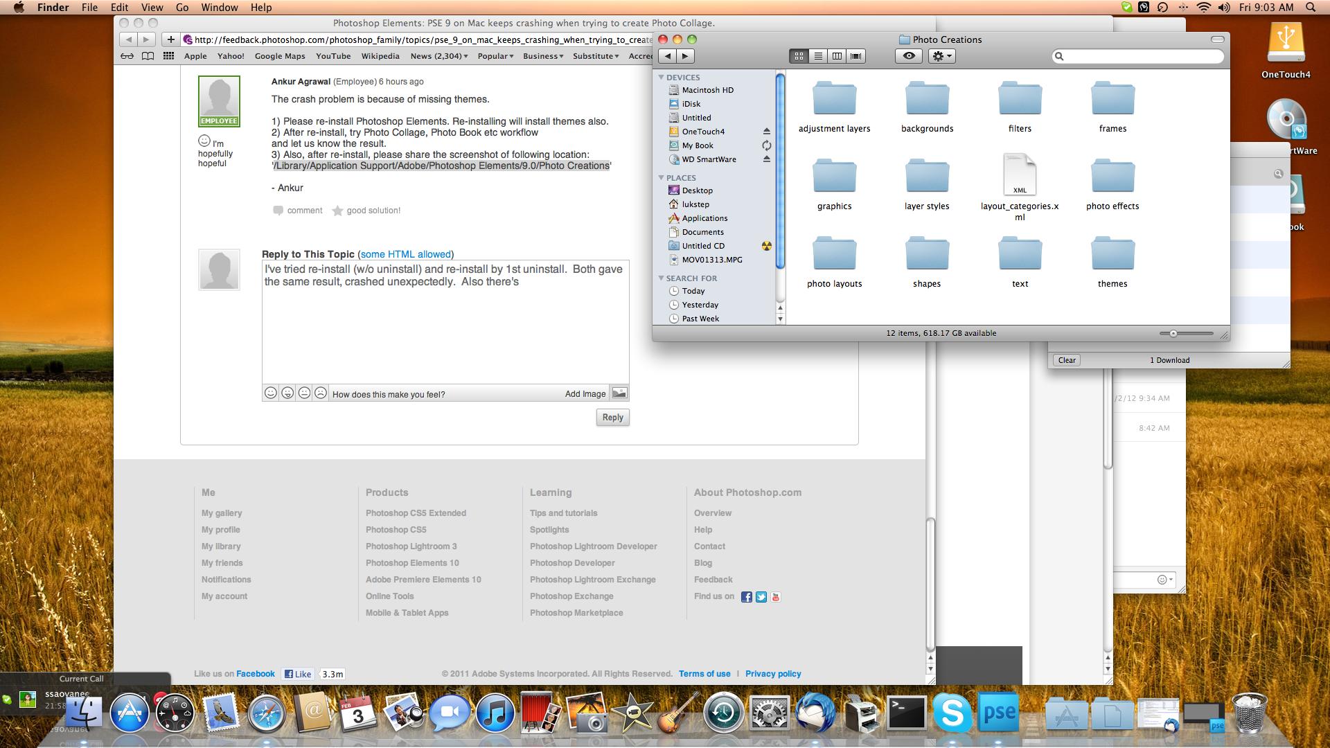 Photoshop keeps crashing mac