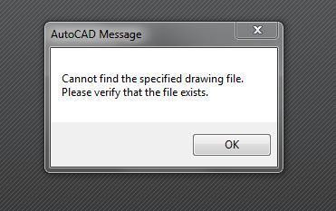 Can't open DXF attachments - Launches Autocad - Cannot Find