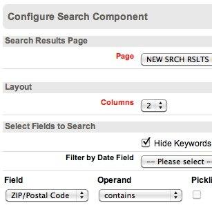 zip code radius proximity search on Portal - Forum