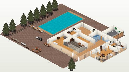 3d en la web taringa for Disenar casa online con autodesk homestyler