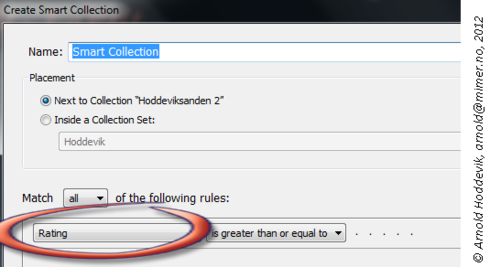Condition list value in create Smart collection can not be