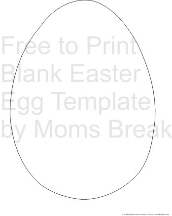 free egg template